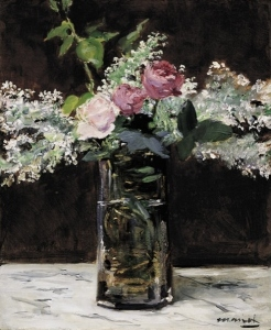 manet lilacs roses